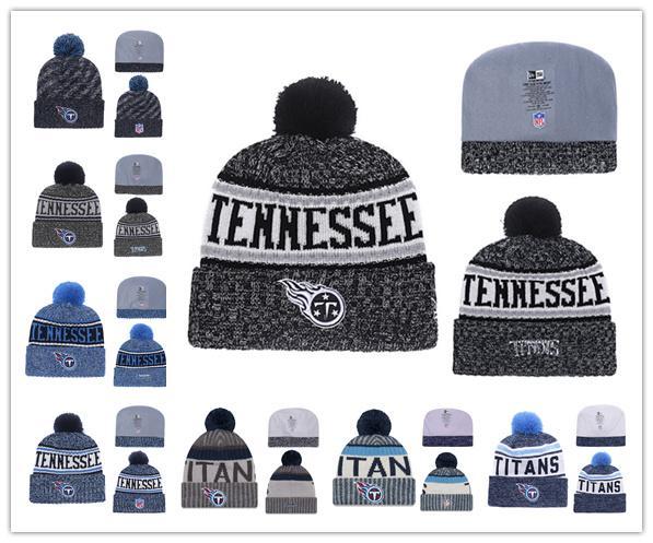 69026df6 2019 Winter Tennessee hat Titans Beanie Hats for Men women Knitted Beanie  Wool Man Knit Bonnet