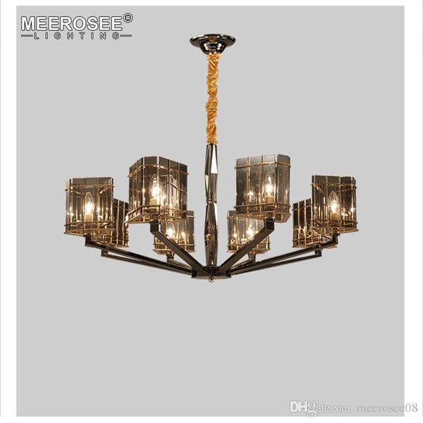 New Arrival Crystal Chandelier Light Glass Hanging Suspension Lamp For Dining Room Hotel Project Lustres Abajur Sputnik Chandelier Diy Chandelier From