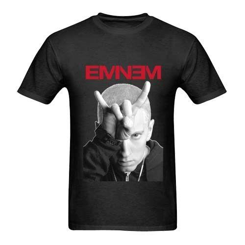 Eminem Horns Imagen Tour Two Sides Tee Camiseta negra para hombre Talla S a 3XL France Soccerer Jersey 2018 Harajuku Cool Camiseta Homme
