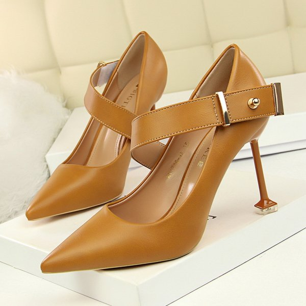BIGTREE Shoes Woman Lady Sexy Pointy Toe Night club Party Elegant High Heeled Butterfly Shoes High Heels Women Pumps Stiletto