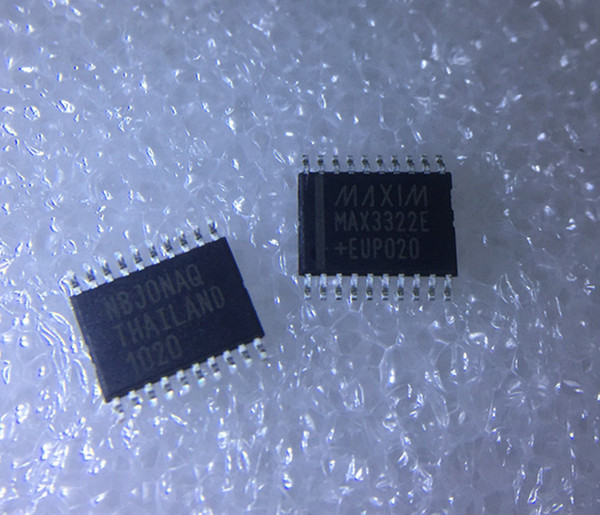 Wholesale 5 pcs/lot MAX3322EEUP RS232 250KBPS 20TSSOP in stock new and original ic free shipping