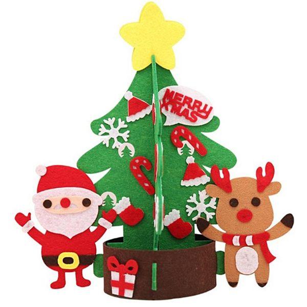 2019 Cute Christmas Tree Ornament Celebration Festival Party Desktop Window Decor DIY Craft christmas tree decorations