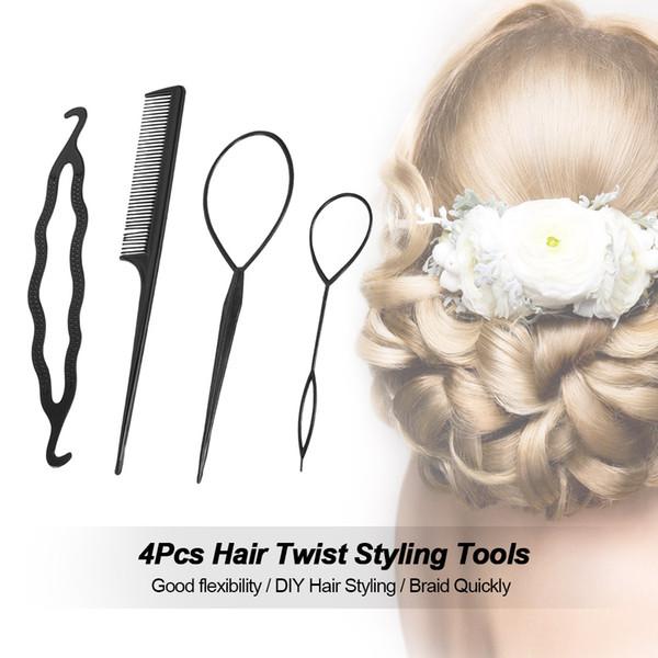 bun créateur outil de tresse de cheveux des accessoires pour cheveux coiffure