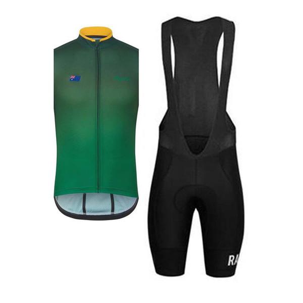 New 2019 Rapha Men team sport suit maillot ropa ciclismo cycling sleeveless jersey bib shorts MTB bicicleta clothing set