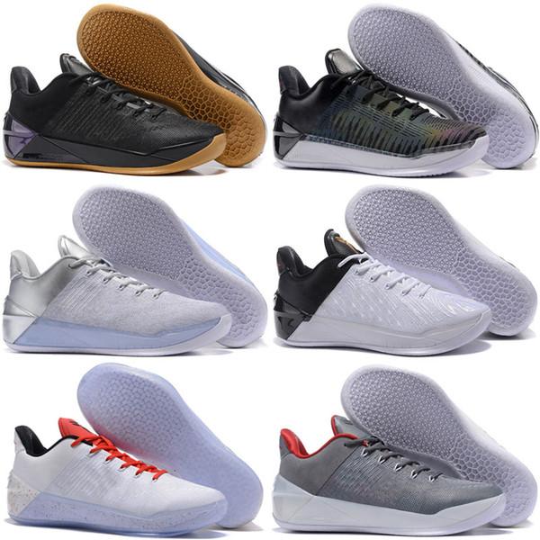 2018 Kobe 12 черное золото мужчины баскетбольная обувь дешевые фиолетовый красный бел