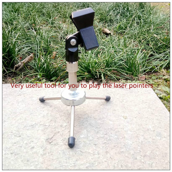 laser pointer flashlight clip holder stand support scalable scalable, rotatable universal bracket