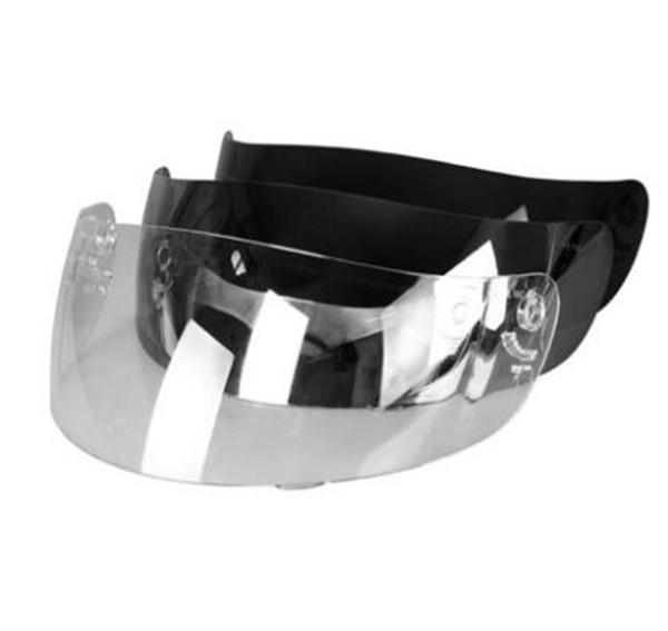 Transparente Silber Motorrad Helm Visier Motorrad Capacete Len Moto Helme Schild Nenki 802