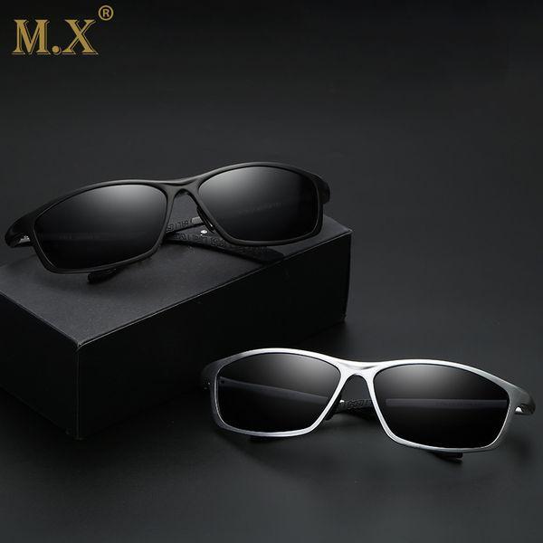 MX Fashion Men's Polarized Sun glasses 2018 New Aluminium Magnesium square Sunglasses Brand Travel Driving eyeglasses