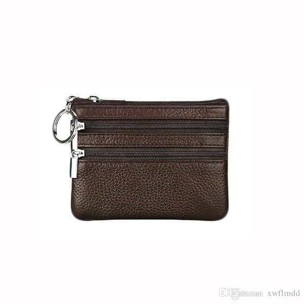 Hochwertige Echtleder Mode Kreuz-Brieftasche Männer Designer-Karte Brieftaschen Tasche europäischen Stil Marke Geldbörsen