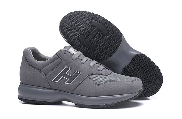 low cost wholesale competitive price 2019 New Sale Interactive Shoes Men Sale Italia Online Men Leather Leisures  Good Scarpes New Come Grey Male Height Casual Trainers Epacket Cheap Shoes  ...