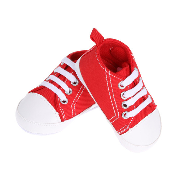 1 Pair Baby Boys Girls Shoes Boy&Girl Spots Shoes First Walkers Kids Children Anti-slip Soft First Walkers