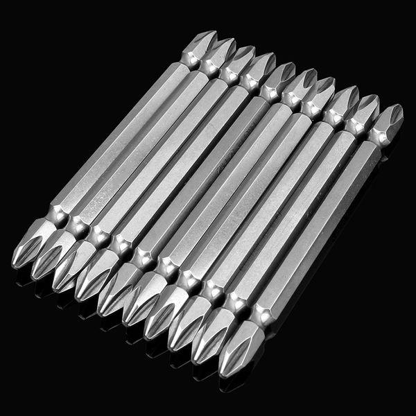 1PCS PH2 Electric Screwdriver Bit Set Magnetic Alloy Steel For Cross Head Anti Slip Magnetic Screwdriver100mm 1/4 inch