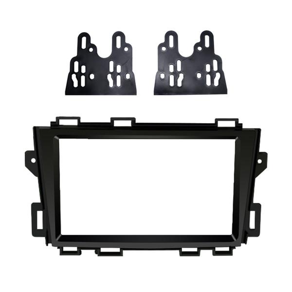 Car Double Din Audio Stereo Fascia Frame For NISSAN Murano 2008-2014 Radio CD Plate Panel Frame Dash Mount Trim Kit #5025