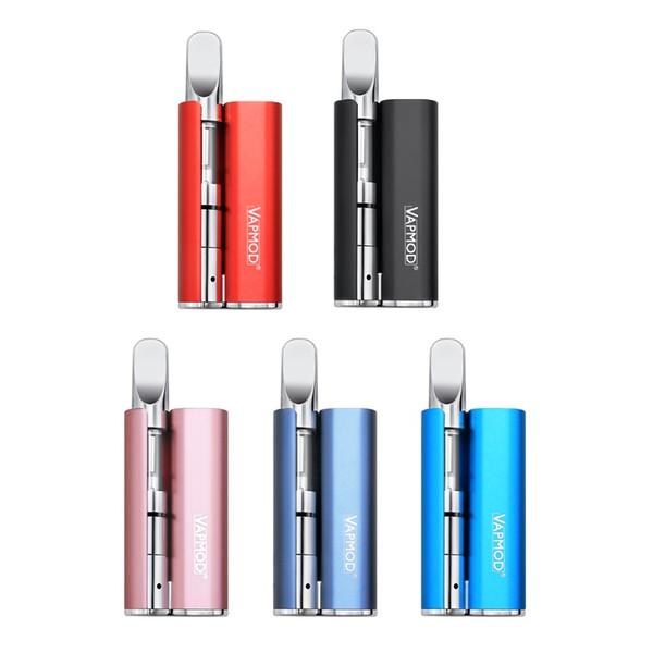 100% Orijinal VapMod Sihirli 710 Kiti 380 mAh Pil Buharlaştırıcı Vape Kalem Mod 510 Konu Için Kalın Yağ Seramik Bobin XTank Pro Kartuş Atomizer