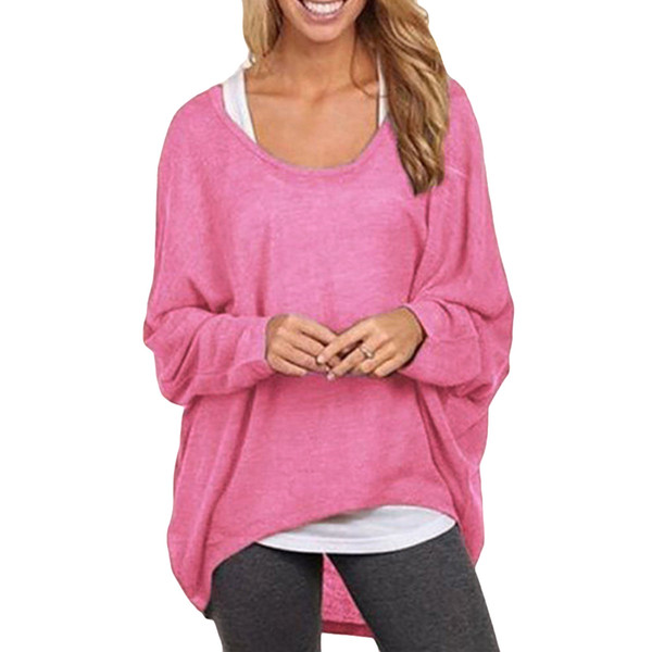 5xl Plus Size T Shirt Women Korean Casual Long Camisetas Mujer Batwing Sleeve Loose T-Shirt Female Pink Tunic Shirt Tops