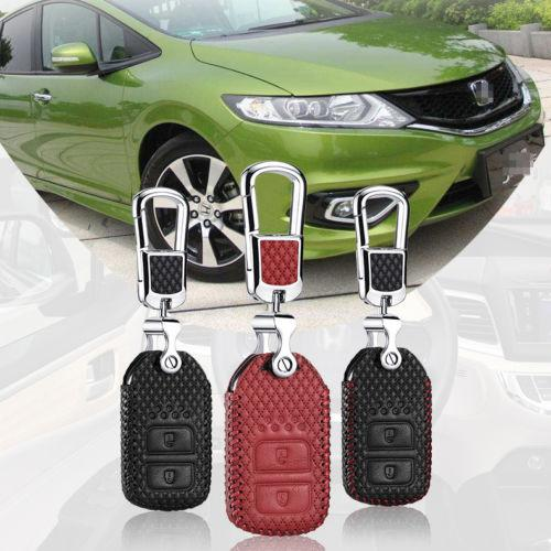 Smart Key Remote Entry Fob Custodia Cover con portachiavi per Honda Crosstour 14-2016