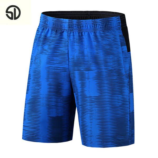 2018 neue Casual Männer Atmungsaktive Shorts Männliche Elastische Taille Strand Shorts Knielangen Bermuda Masculina Mode Bermuda Kleid Homme