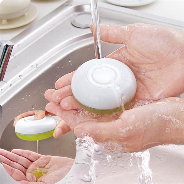 Bouteille de voyage de lotion de caisse de caisse de savon de plat de savon de voyage de 30ml, avec le plateau gardent la boîte de savon et netto