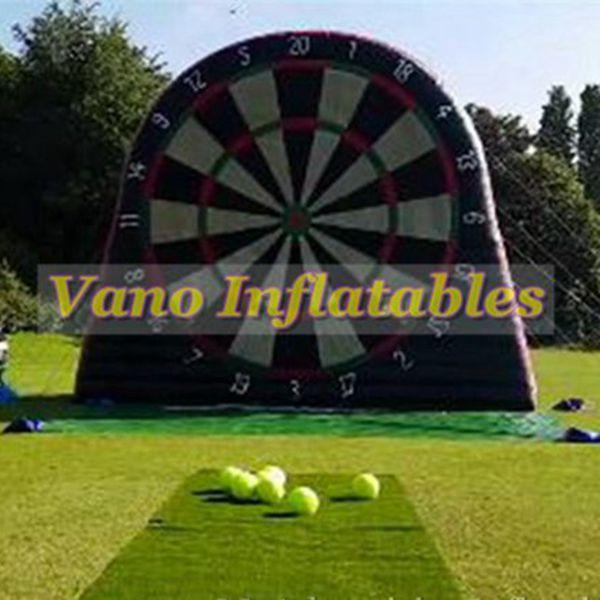 Grosshandel Fussball Darts Hohe Qualitat 3 Mt 4 Mt 5 Mt 6 Mt Fussball Darts Spiel Aufblasbare Mit Geblase Kostenloser Versand Von Vanoinflatables