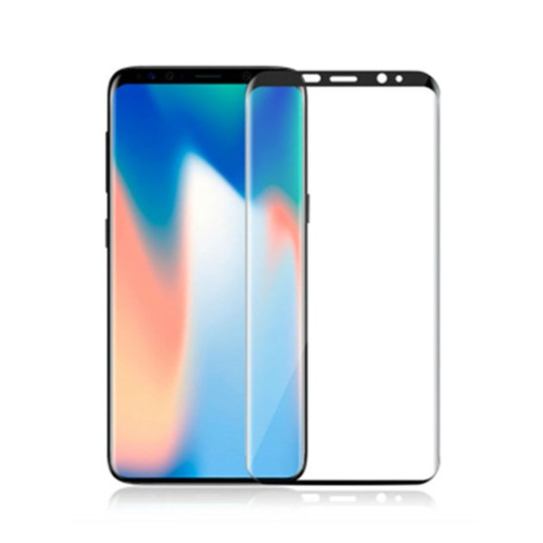 For New Iphone XS MAX XR X 8 7 6 6s Plus Samsung S9 S8 Plus galaxy Note 9 8 Tempered Glass Full Screen color Protector 3D Curved S7 Edge