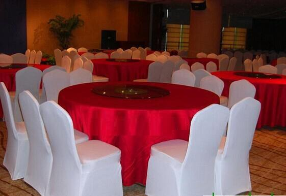 DLM2 chair covers new hot fashion White High Quality Polyester Wedding banquet meeting party restaurant hotel Chair decorations Covers Z313