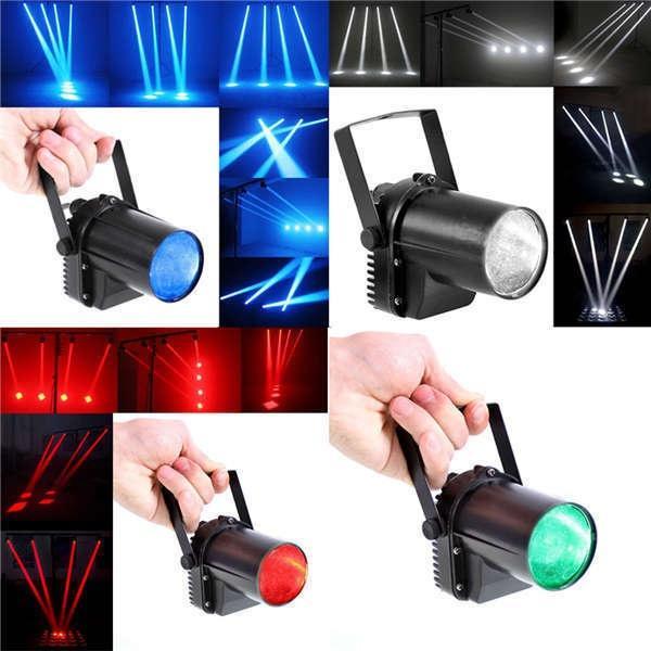 Mini 3W Blue LED Stage Light Lamp Projector Disco Dance Party Club KTV DJ Bar Spin Laser Stage Lighting Effect Spotlight