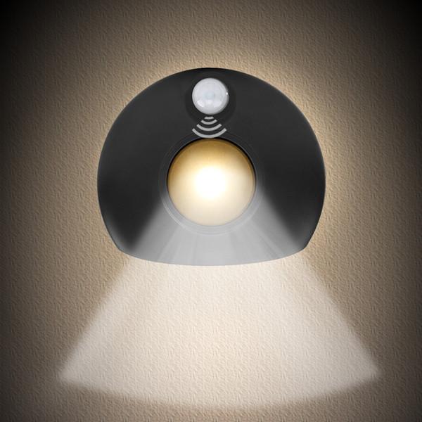 Acquista Applique Da Parete Sensore Di Movimento, Luce Notturna A Movimento  Attivato Camera Da Letto, Bagno, Cucina, Servizi Igienici, Corridoio, ...