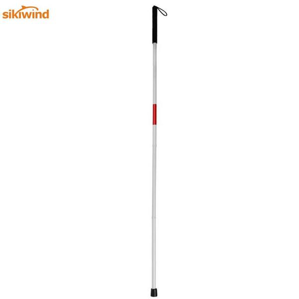 Bastones de aleación de aluminio de 34 cm Bastón de muleta plegable con discapacidad visual Bastón ciego Andador Chino