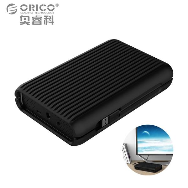 ORICO 3.5 4 TB USB3.1 Gen2 TYPE-C 10Gbps High-Speed Shockproof External Hard Drives HDD Desktop Laptop Mobile Hard Disk EU Plug