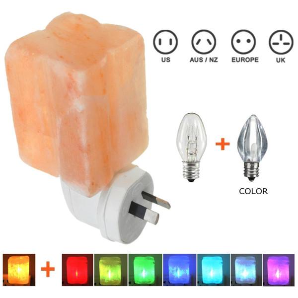 Großhandel Mini Salz Kristall Vier Blatt Form Wand Nachtlicht 7 Farbwechsel  Lampe Leuchten Nacht Schlafzimmer Dekoration Geschenk Von Callaway, $38.12  ...
