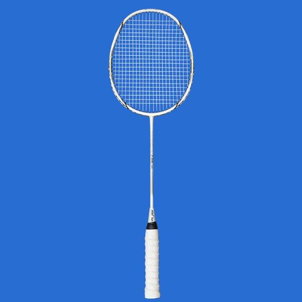 2 Pc / ensemble Raquette De Badminton En Fiber De Carbone Amateur Junior Badminton Raquette Adulte Adolescent Couleur Gratuit