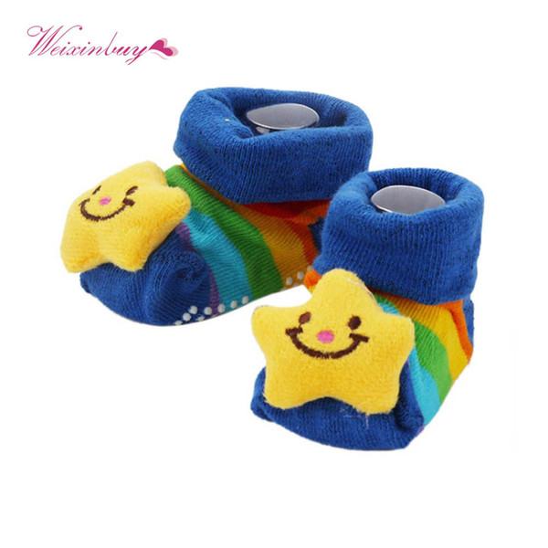 d8cffecc3b78 WEIXINBUY New Winter Animal Lovely Cartoon Baby Socks Shoes Cotton Newborn  Booties Unisex Infant Kids Boots