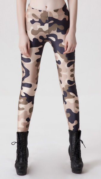 2016 neue 3D Tarnung gedruckt Leggings für Frauen Casual Hosen Workout Leggins hohe Qualität Fitness Sporting Hosen Sportswear