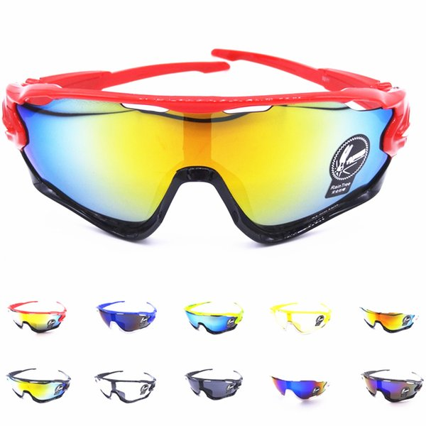 Cycling eyewear UV400 Men women Outdoor Sport MTB Mountain road Bike Bicycle Glasses Motorcycle Sunglasses Fishing Glasses S042