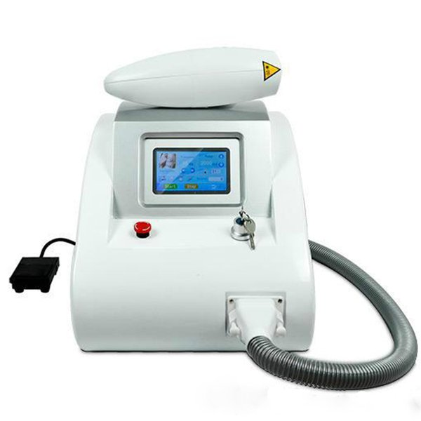 NEWEST ! 2000mj Touch Screen Q Switch Nd Yag Laser Tattoo Removal Machine Pigments Removal Wave Length 1064nm 532nm 1320nm DHL Free Shipping