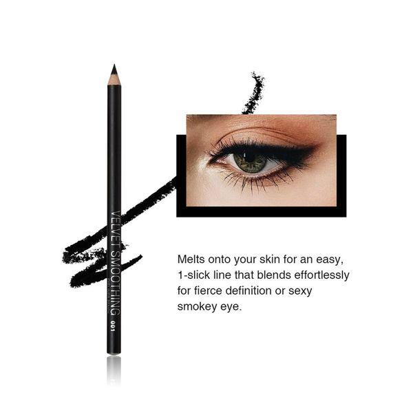 12pcs/Lot Professional Black Eyeliner Pencil Makeup Waterproof Eyebrow Beauty Pen Eye Liner Cosmetic Tools