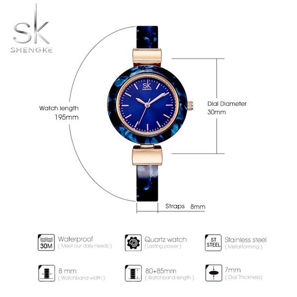 Women Watches Bangles Fashion Wristwatch Charming Chain Style Watch Women Creative Unique Women Dress Watch 2018