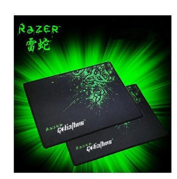 PC Razer Goliathus Gaming Mauspad 300 * 250 * 2mm Rastkante Mauspad Geschwindigkeit / Control Version Für Dota2 3 CS Mousepad