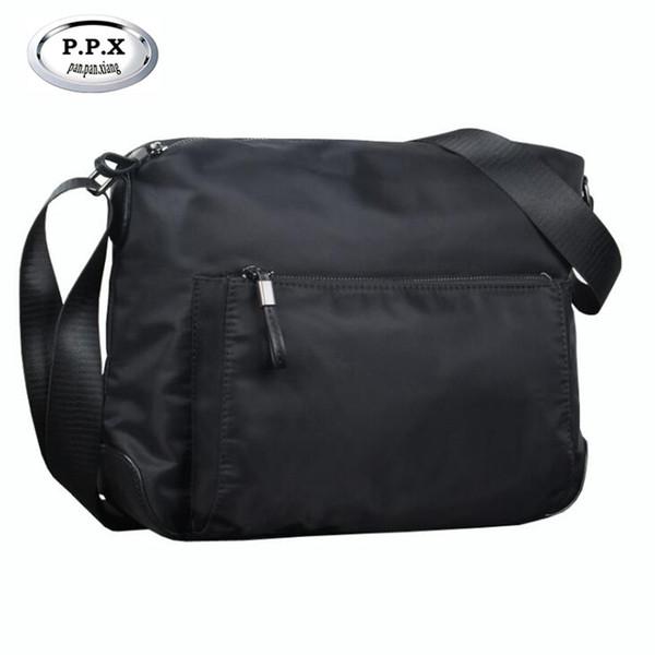 P.P.X bolso de hombro multifuncional bolso de los hombres de Oxford de alta calidad a prueba de agua bolsa de mensajero ocasional bolsos masculinos casuales 2018 M784
