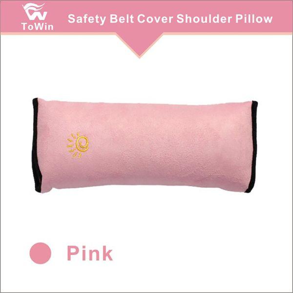 1 Pair Car Seat Belt Plush Pad Harness Safety Shoulder Strap Warm Cushion Cover