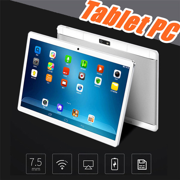 """DHL 10"""" inch MTK6580 Octa Core 1.5Ghz Android 6.0 3G Phone Call tablet pc GPS bluetooth Wifi Dual Camera 4GB 64GB keyboard cover Case G-10PB"""