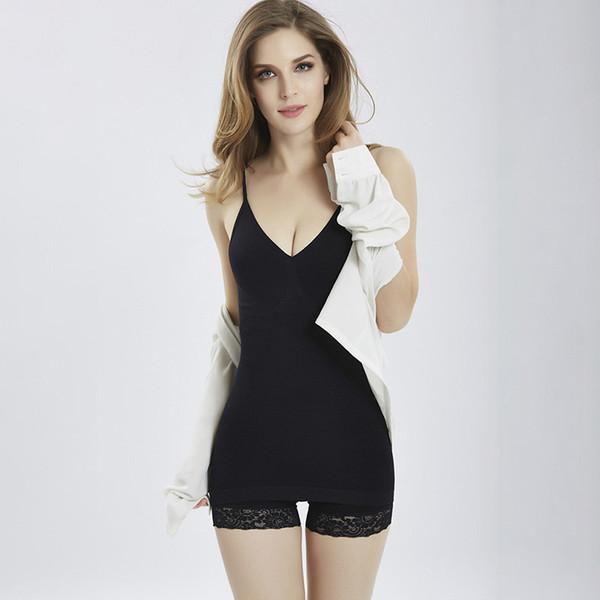 Fashion Women Camis Hot Slim Solid Camisole Tank Tops 2018 Summer New Sleeveless Ladies Shaper vest Body slim Tank Tops