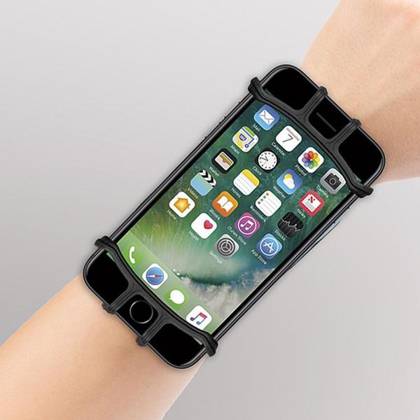 4-5.5Zoll Running Phone Wristband 180 Grad drehbare Lauf Tasche Gürtel Handschlaufe Jogging Radfahren Gym Arm Band Tasche für iPhone