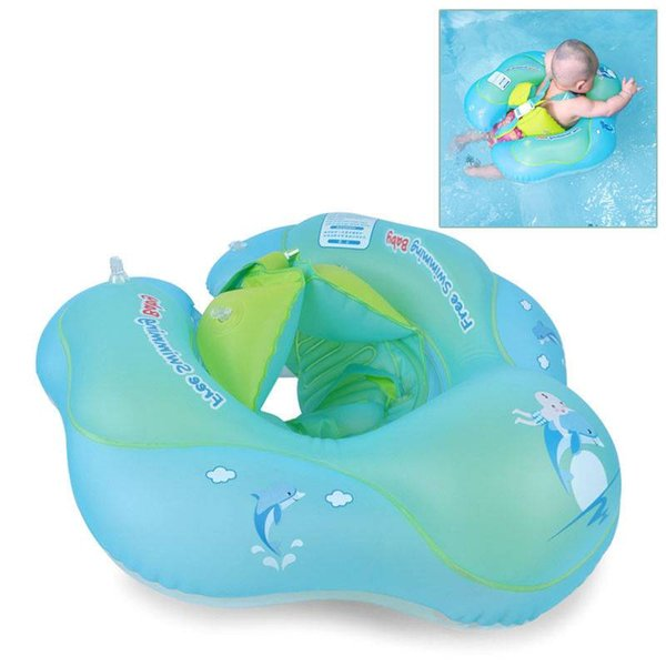 top popular Baby Float Swimming Ring Kids Inflatable Swim Tube Trainer Pool Water Fun Toy Baby Swimming ring 2019