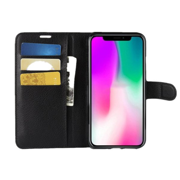 For iPhone XS Max XR Orbit Flex Clamshell Case Card Inserting Leather Against Falling Protective Cover For iPhone X 6 7 8 Plus
