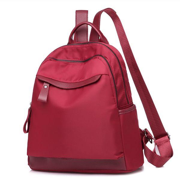 Nylon Backpack Fashion Women Causal Female Shoulder Bag For For Teenagers Girls