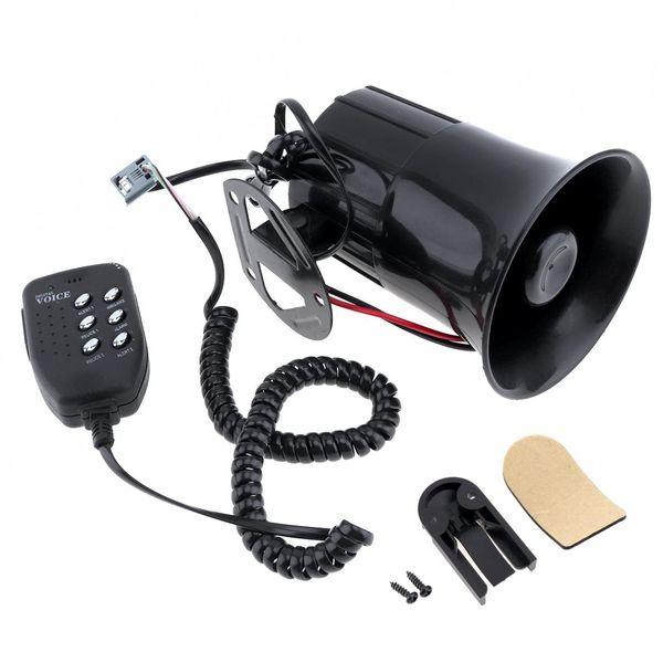 Loud Car Horn >> Loud Car Horn 100w 12v 6 Sound Car Speaker Loud Alarm Siren Horn 105 115db With Mic Microphone For Auto Truck Car O Parts Car Part Company From