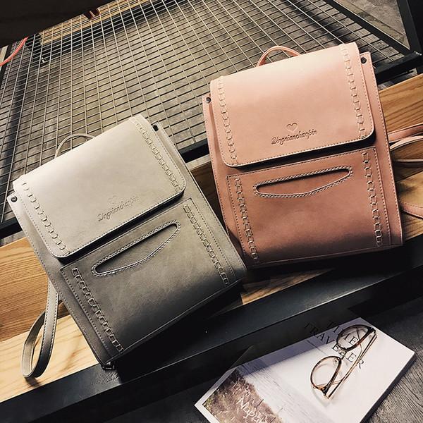 Дети плечи сумки девушки мода Корейский рюкзак повседневная простой опрятный стиль сумка сумки подростки девушки путешествия торговый рюкзак 5 цветов