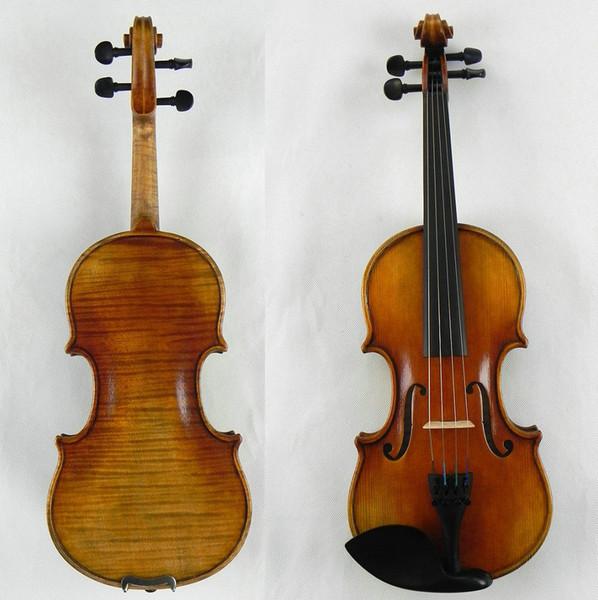 Master 1/4 Violin!Fabulous Tone 1-P Flame Back