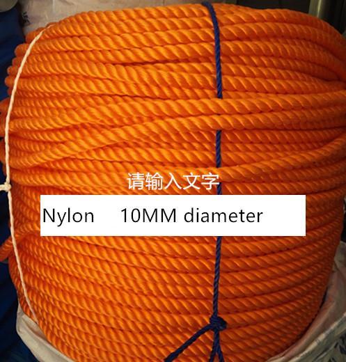 Corde de nylon de haute résistance de 10mm